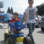 Дитячі автомобілі у Львові