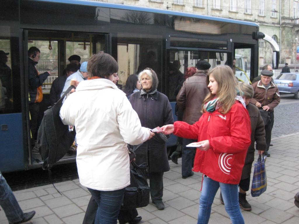 ae683c32b19d3f Святкове відкриття та event у Львові | Рекламна компанія | reklamin